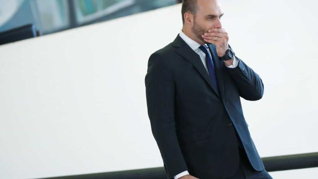 Por ordem de Eduardo, deputado do PSL é 'desconvidado' de reunião
