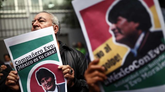 Novas eleições na Bolívia marcadas para 3 de maio