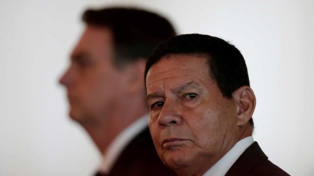 Mourão diz que desmatamento foi além do aceitável na Amazônia