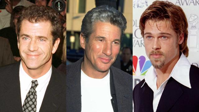 O antes e depois dos galãs de Hollywood
