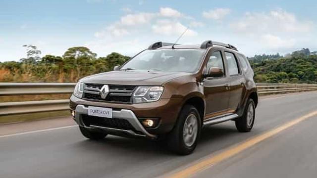 Renault faz recall de 11 mil carros modelo Duster por falha no airbag