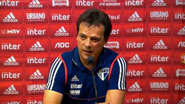 Diniz revela que Pablo jogou 'no sacrifício' para ajudar o São Paulo