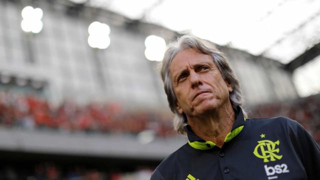 'Faltam dois jogos para o Flamengo vencer tudo', diz Jorge Jesus