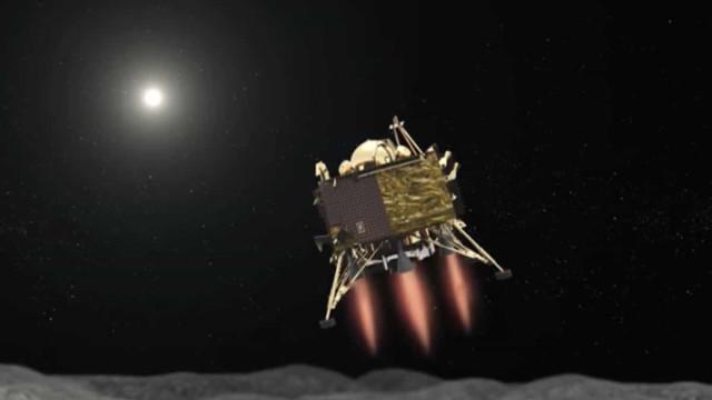 NASA descobriu local da queda da sonda indiana Vikram na Lua