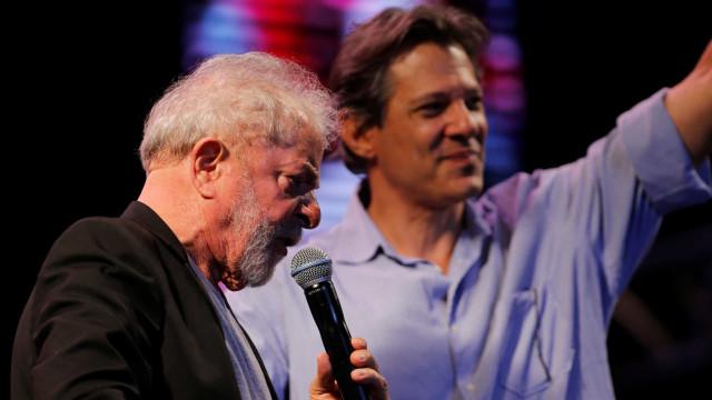 """""""Todo o mundo gostaria que Haddad fosse candidato a prefeito"""", diz Lula"""