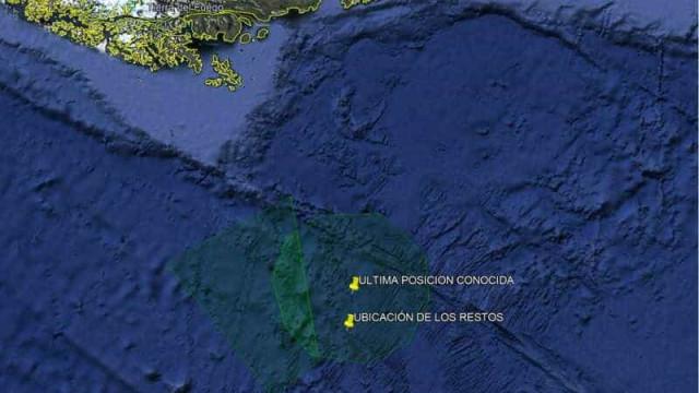 Localizado avião chileno que ia para a Antártida