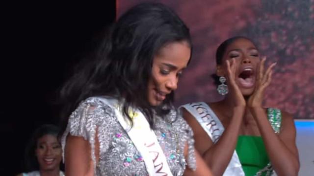 Reação de Miss Nigéria após vitória de jamaicana no Miss Mundo viraliza