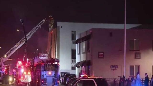 Seis mortos em incêndio num edifício de habitação em Las Vegas