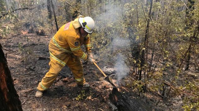 Chuva alivia áreas atingidas pelos incêndios na Austrália