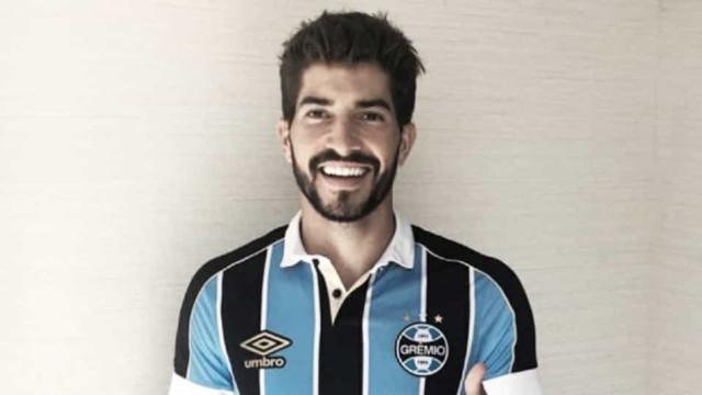 Grêmio anuncia contratação do volante Lucas Silva, ex-Cruzeiro