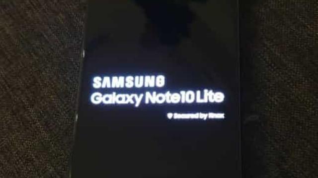 Já há imagens ao vivo do novo Galaxy Note 10 Lite