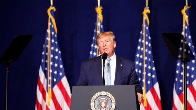 Trump afirma que vai impor novas sanções contra o Irã