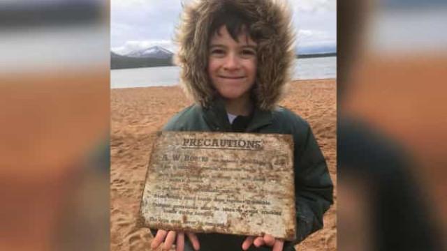 Criança encontra granada da Segunda Guerra com detetor de metal