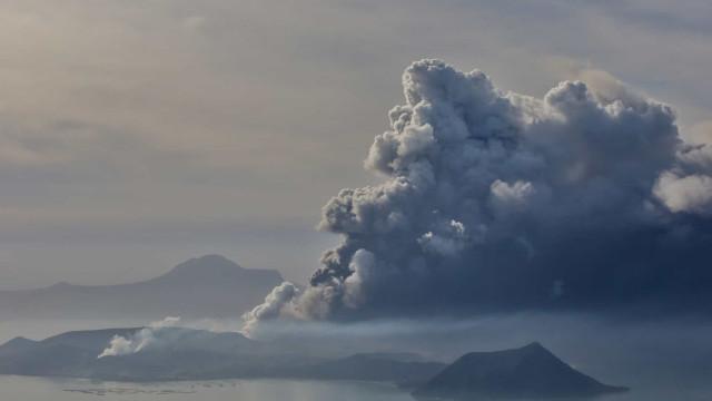 Filipinas eleva nível de alerta porque vulcão pode entrar em erupção