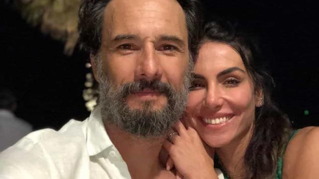 Rodrigo Santoro marca aniversário da mulher com declaração de amor