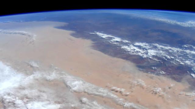Incêndios na Austrália captados a partir do Espaço por astronauta