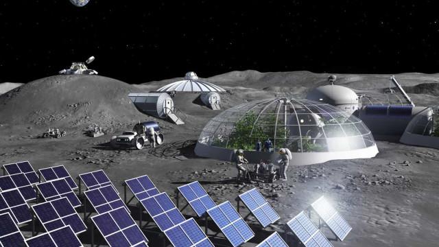 Agência Espacial Europeia quer transformar poeira lunar em oxigênio