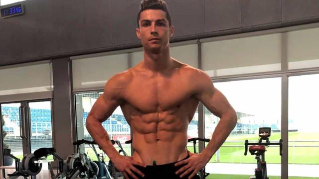 A boa forma de Cristiano Ronaldo: 5 sestas por dia e outros segredos