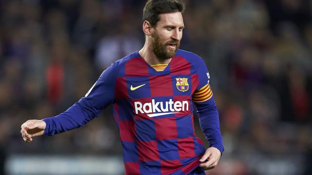 Presidente interino do Barcelona revela que teria sido 'desejável' vender Messi