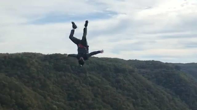 Salto de Base Jump termina com morte no Rio