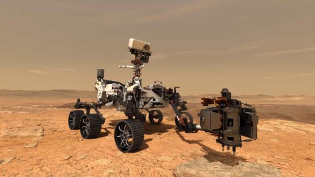 NASA escolhe nome da missão a Marte de 2020