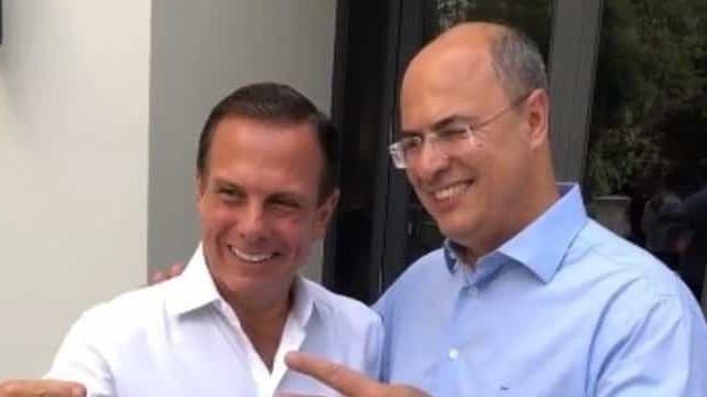 Em evento, governadores de SP e RJ se unem para criticar Bolsonaro