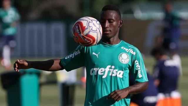 Angulo acelera recuperação para finalmente estrear pelo Palmeiras