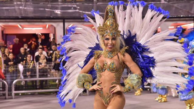 Águia de Ouro: Tati Minerato diz ser pé quente após título do Carnaval