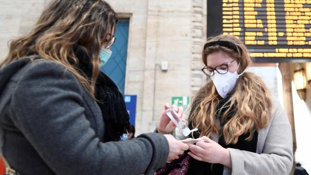 Coronavírus avança na Europa