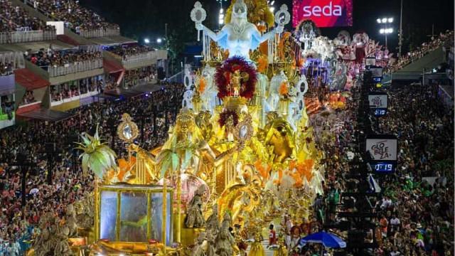 Viradouro é a campeã do carnaval carioca