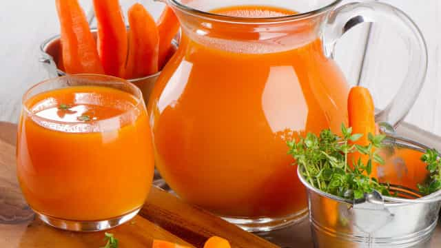 Bem Estar: emagreça bebendo suco de cenoura