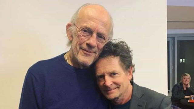 Astros de 'De Volta para o Futuro' se reúnem 35 anos após 1º filme