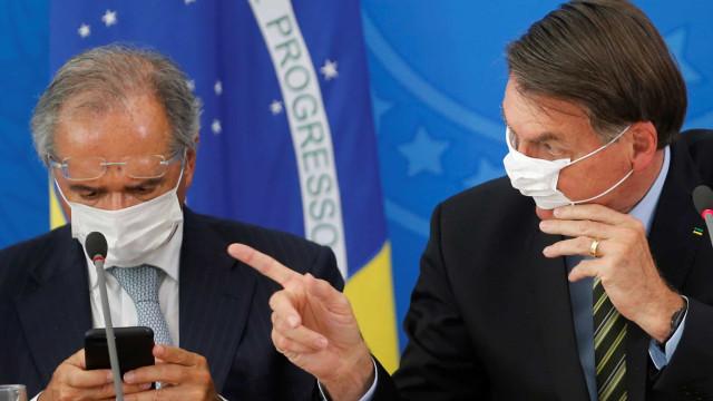 Bolsonaro: Guedes expôs que é possível economia se recuperar em 1 ano