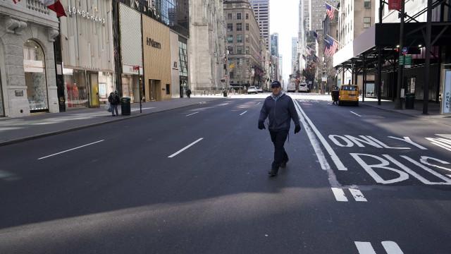Pessoas que visitaram Nova York devem ficar de quarentena por 14 dias
