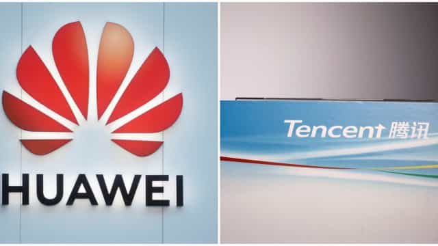 Huawei e Tencent vão desenvolver plataforma de 'cloud'