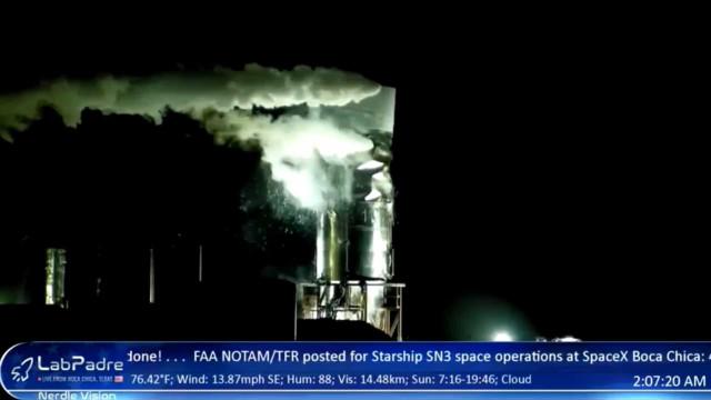 Protótipo de nave da SpaceX não resiste a teste de pressão