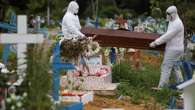 Brasil registra 2.760 mortes por Covid em 24 h e total passa de 491 mil