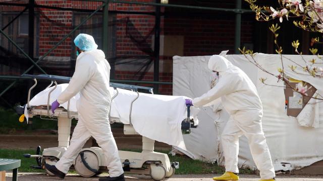 EUA registram 2.000 mortes por novo coronavírus em apenas um dia