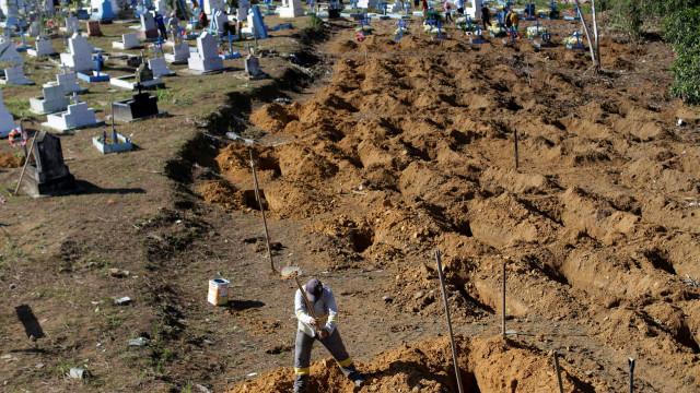 Brasil registra mais de 20 mil mortes na semana, a 2ª mais letal da pandemia