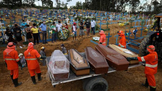 Estado de São Paulo bate recorde de mortes por coronavírus em um dia
