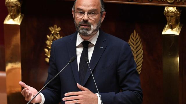 Édouard Philippe, primeiro-ministro francês pede demissão