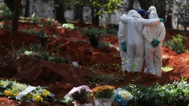 Brasil registra 1.366 mortes por Covid em 24 h e mais de 48 mil casos