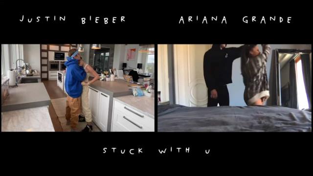 Justin Bieber e Ariana Grande lançam música juntos