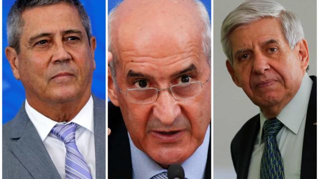 Ministros militares depõem hoje no inquérito Moro contra Bolsonaro