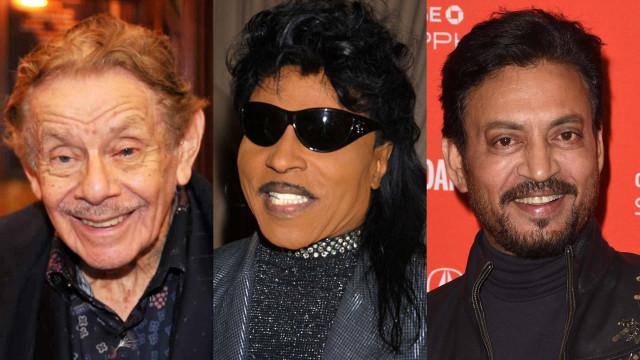As celebridades que morreram em 2020