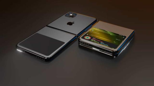 'Concept' revela como seria um iPhone de tela dobrável