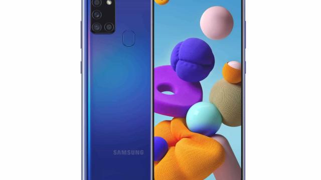O novo smartphone da Samsung tem bateria de 5,000mAh