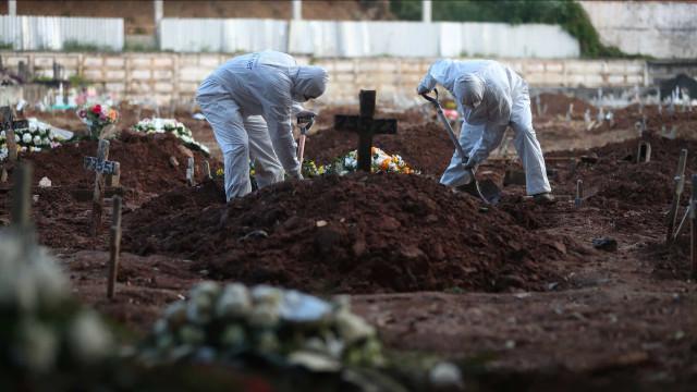 Brasil registra 1.480 mortes por Covid-19 em 24h