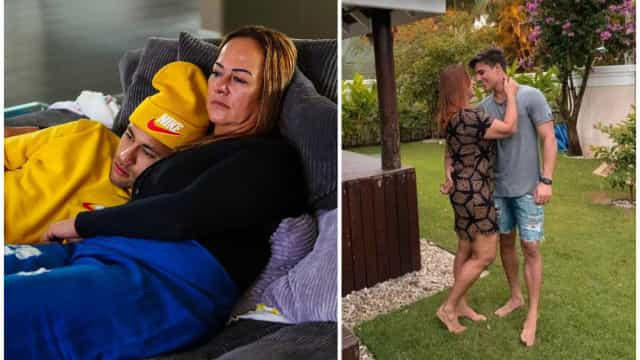 Polêmico namoro da mãe de Neymar chega ao fim após pressão da família