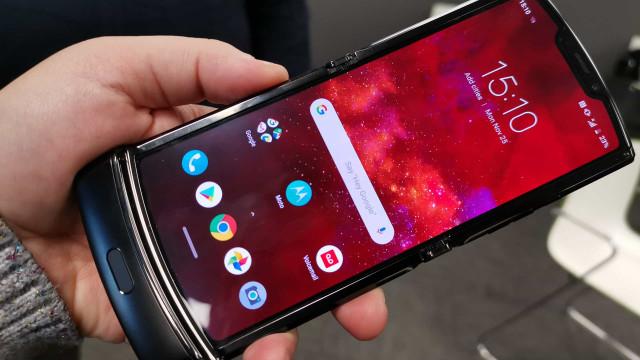 Há uma nova versão do Motorola Razr a caminho